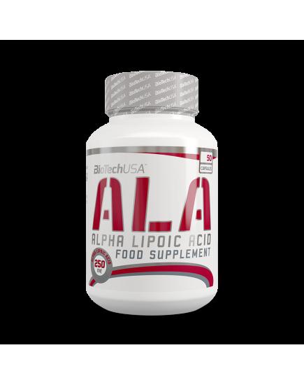 Антиоксиданты ALA 250 mg (50 caps) BioTechUSA. Фото | Add Power
