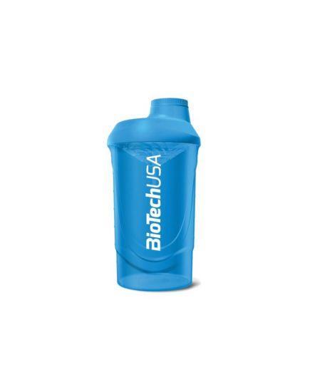 Шейкеры для спортивного питания Шейкер - Biotech Wave Shaker 600 ml (blue) BioTechUSA. Фото | Add Power