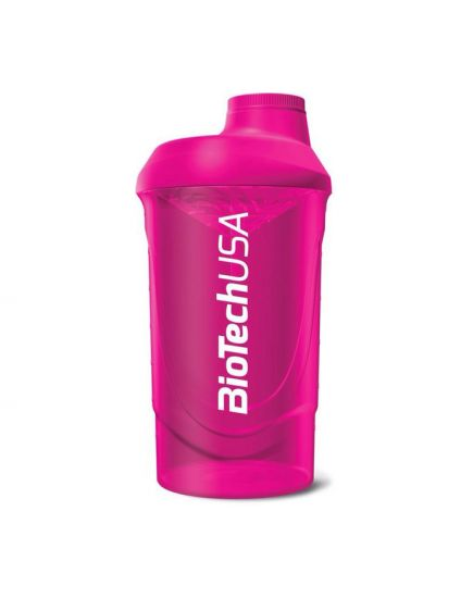 Шейкеры для спортивного питания Шейкер - Biotech Wave Shaker 600 ml (pink) BioTechUSA. Фото | Add Power
