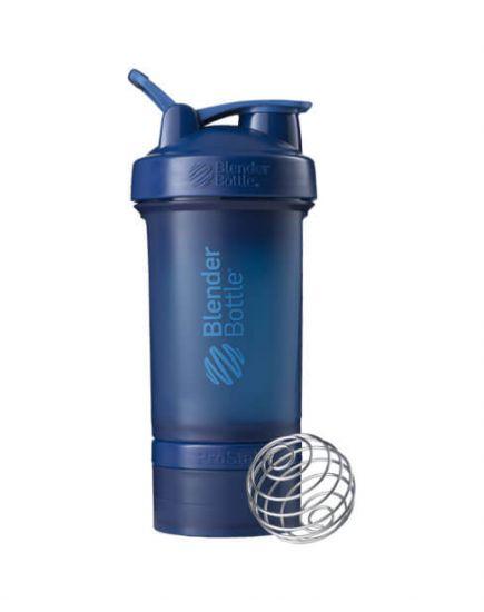 Шейкеры для спортивного питания Шейкер - ProStak 600 ml ( navy ) Blender Bottle. Фото | Add Power