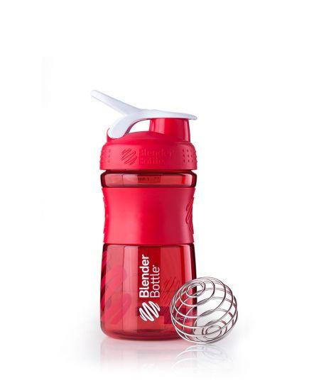 СНАРЯЖЕНИЕ И АКСЕССУАРЫ Шейкер - SportMixer 590 ml (red/white) Blender Bottle. Фото   Add Power
