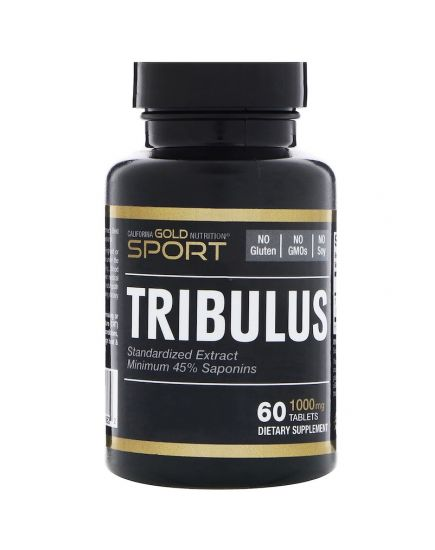 Усилители тестостерона TRIBULUS 1000 mg (60 tab) California Gold Nutrition. Фото | Add Power