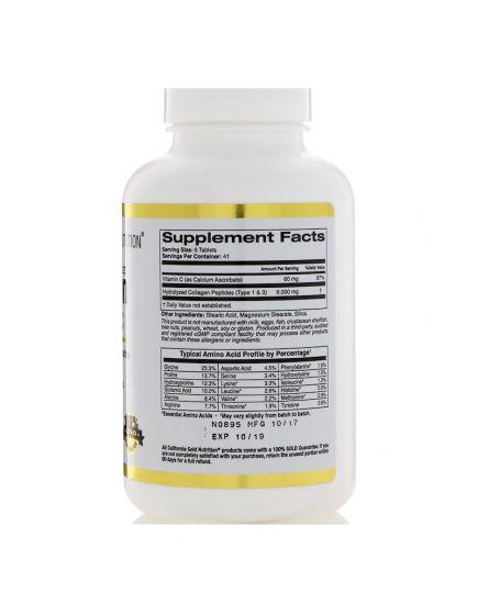 Hydrolyzed Collagen + Vitamin C (250 tab)