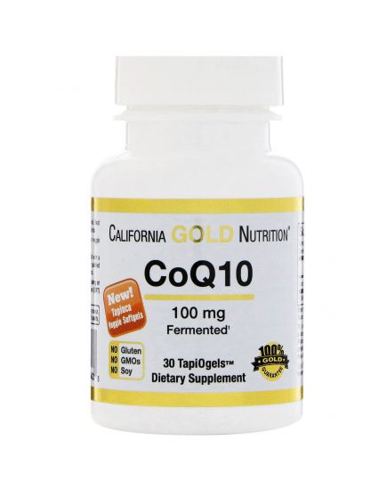 Антиоксиданты CoQ10 100 mg (30 caps) California Gold Nutrition. Фото | Add Power
