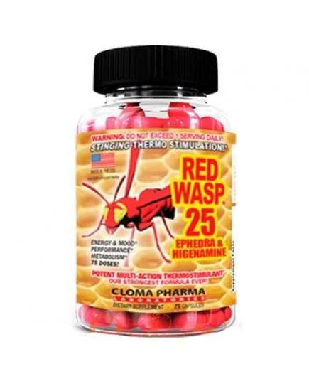 Комплексные жиросжигатели RED WASP (75 caps) Cloma Pharma. Фото | Add Power