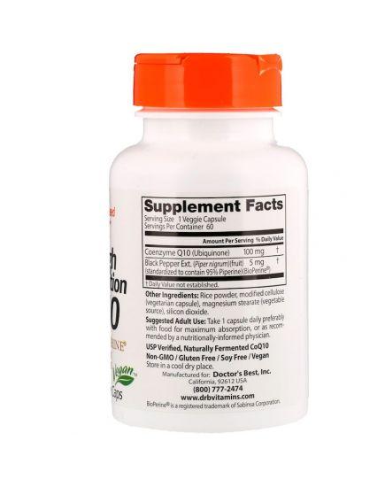High Absorption CoQ-10 100 mg (60 caps)