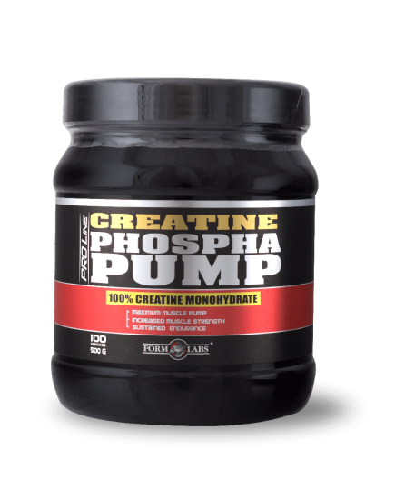 Креатин моногидрат CREATINE PHOSPHAPUMP (500 g) Form Labs. Фото | Add Power