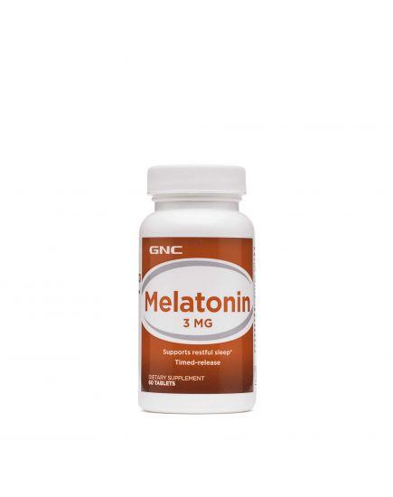 Для нервной системы MELATONIN 3 MG (120 tabs) GNC. Фото | Add Power