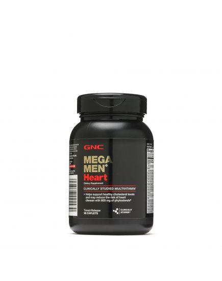 Витамины и минералы для мужчин MEGA MEN HEART (90 caps) GNC. Фото   Add Power
