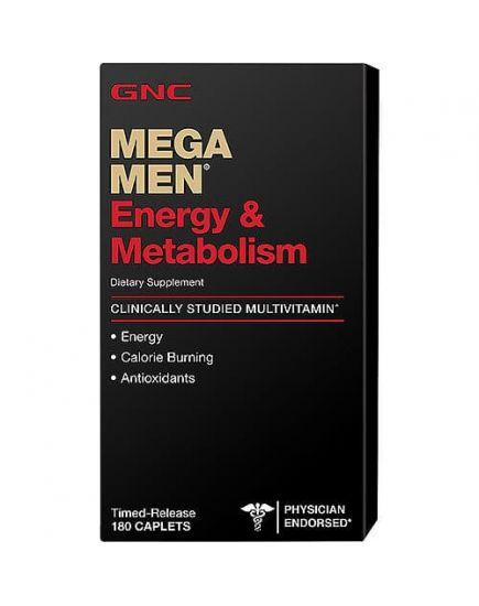 Витамины и минералы для мужчин MEGA MEN ENERGY & METABOLISIM (180 caps) GNC. Фото | Add Power
