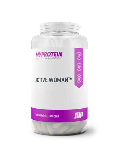 Витамины и минералы для женщин ACTIVE WOMAN (120 tabs) MYPROTEIN. Фото | Add Power