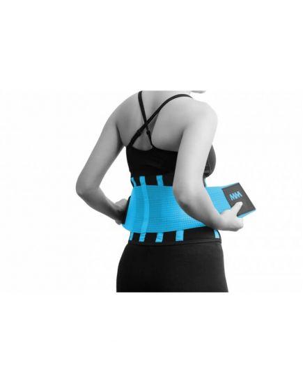 Атлетические пояса Пояс - Slimming and Support Belt Blue (MFA-277) MadMax Sportswear. Фото | Add Power