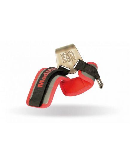 Лямки и крючки для турника, тяги Крючки - MadMax Metalic Lat Hooks MadMax Sportswear. Фото | Add Power