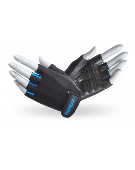 Спортивные перчатки Перчатки - MadMax Rainbow MFG-251 (black/blue) MadMax Sportswear. Фото   Add Power