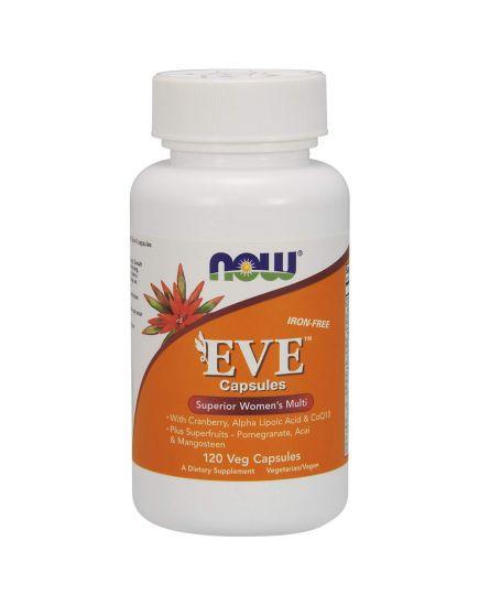 ЗДОРОВЬЕ И ДОЛГОЛЕТИЕ EVE Superior Women's Multi (120 veg capsules) NOW Foods. Фото   Add Power