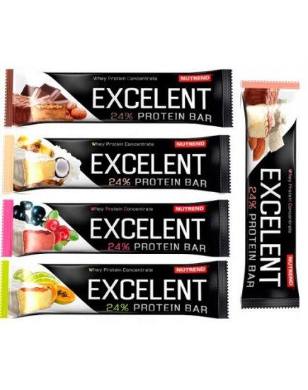 Протеиновые батончики Excelent Protein Bar 24% (85 g) Nutrend. Фото | Add Power