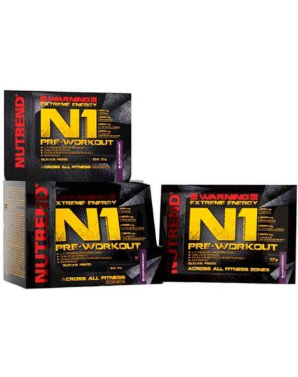 Предтренировочные комплексы N1 (17 g) Nutrend. Фото | Add Power