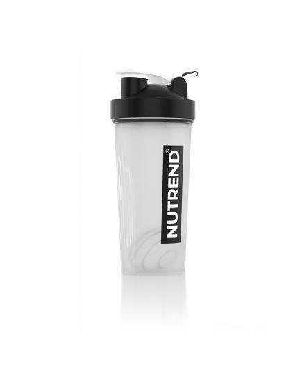 Шейкеры для спортивного питания Шейкер - Nutrend Black/White 600 ml Nutrend. Фото   Add Power