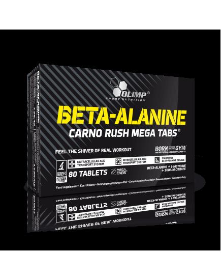 Бета-аланин BETA-ALANIN CARNO RUSH MEGA TABS (80 tabs) Olimp Sport Nutrition. Фото   Add Power