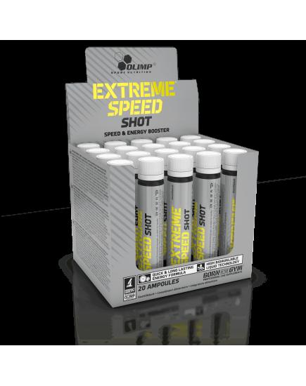 Предтренировочные комплексы EXTREME SPEED SHOT AMPOULE (25 ml) Olimp Sport Nutrition. Фото | Add Power