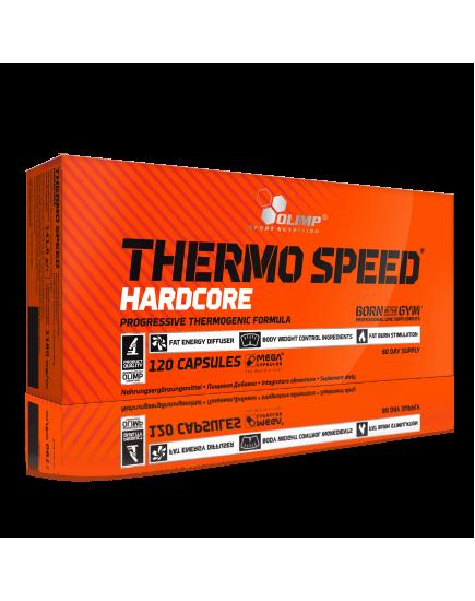 Комплексные жиросжигатели THERMO SPEED HARDCORE (120 caps) Olimp Sport Nutrition. Фото | Add Power