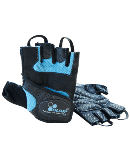 Спортивные перчатки Перчатки - Fitness Star (blue) Olimp Sport Nutrition. Фото | Add Power