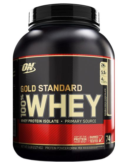 100% WHEY GOLD STANDARD (2,27 kg)