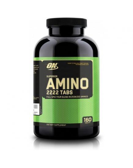 АМИНОКИСЛОТЫ Superior Amino 2222 (160 tabs) Optimum Nutrition. Фото | Add Power