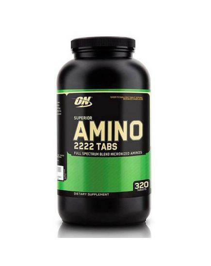 АМИНОКИСЛОТЫ Superior Amino 2222 (320 tabs) Optimum Nutrition. Фото | Add Power