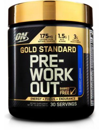Предтренировочные комплексы GOLD STANDARD PRE-WORKOUT (300 g) Optimum Nutrition. Фото | Add Power