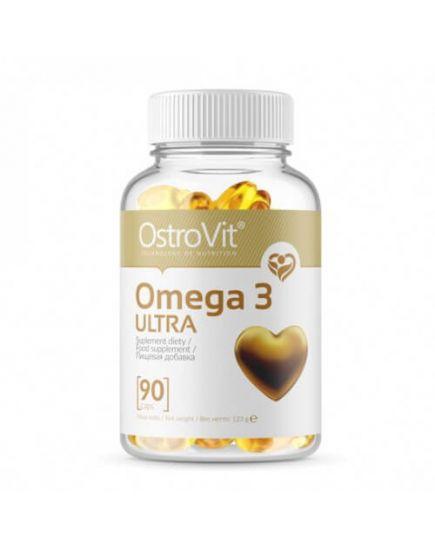 Омега (рыбий жир) OMEGA 3 ULTRA (90 caps) OstroVit. Фото   Add Power