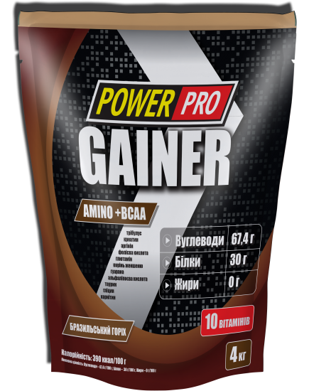 ГЕЙНЕР GAINER (4 kg) Power Pro. Фото | Add Power