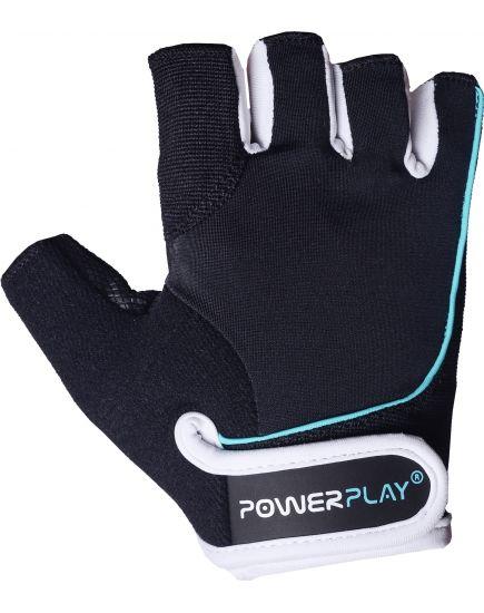 Спортивные перчатки Перчатки - Power Play PP-1750 (black/blue) PowerPlay. Фото | Add Power