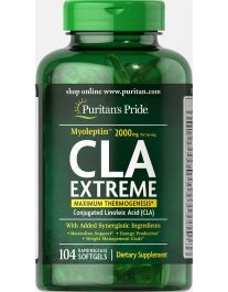 "CLA Extreme ""Myoleptin"" 2000 mg (104 softgels)"