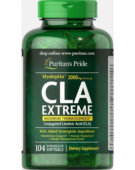 "Жиросжигатели CLA Extreme ""Myoleptin"" 2000 mg (104 softgels) Puritan's Pride. Фото | Add Power"