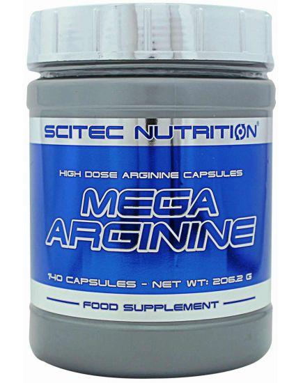 Аргинин MEGA ARGININE (140 caps) Scitec Nutrition. Фото   Add Power
