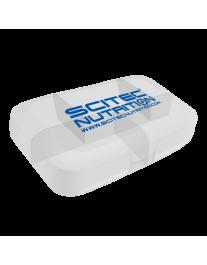 Таблетница - SN Pill Box (white)