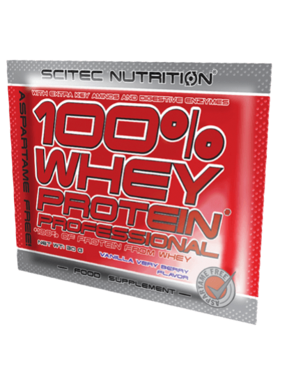 ПРОТЕИН 100% WHEY PROTEIN PROFESSIONAL (30 g) Scitec Nutrition. Фото | Add Power