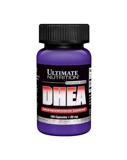 Усилители тестостерона DHEA 50 mg (100 caps) Ultimate Nutrition. Фото | Add Power