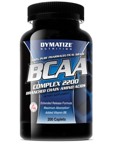 АМИНОКИСЛОТЫ BCAA COMPLEX 2200 (200 tabs) Dymatize. Фото | Add Power