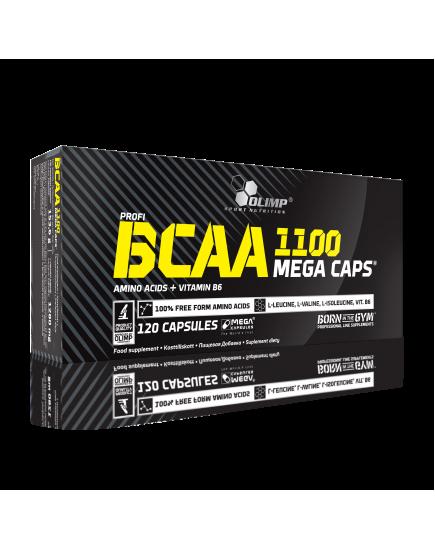 АМИНОКИСЛОТЫ BCAA MEGA CAPS (120 caps) Olimp Sport Nutrition. Фото | Add Power