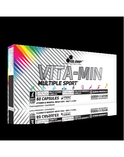 Витаминные комплексы для спорта VITA-MIN MULTIPLE SPORT (60 caps) Olimp Sport Nutrition. Фото | Add Power