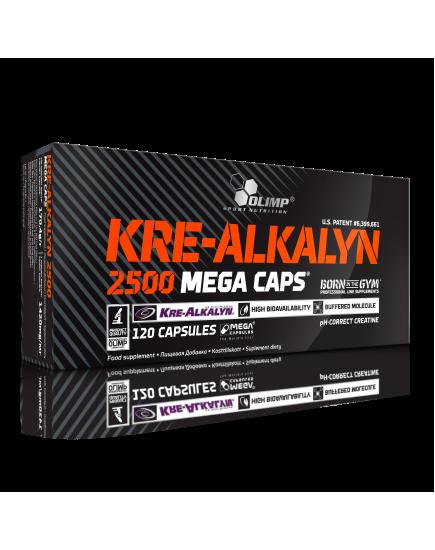 МЫШЕЧНАЯ МАССА KRE-ALKALYN 2500 MEGA CAPS (120 caps) Olimp Sport Nutrition. Фото   Add Power