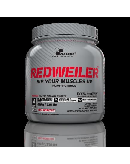 Предтренировочные комплексы REDWEILER (480 g) Olimp Sport Nutrition. Фото | Add Power