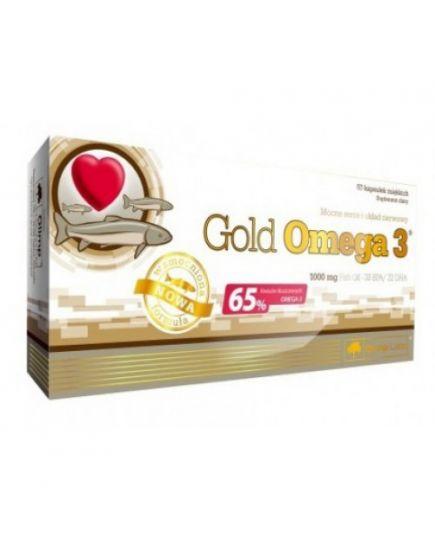 ЗДОРОВЬЕ И ДОЛГОЛЕТИЕ GOLD OMEGA-3 65% (60 caps) Olimp Sport Nutrition. Фото | Add Power
