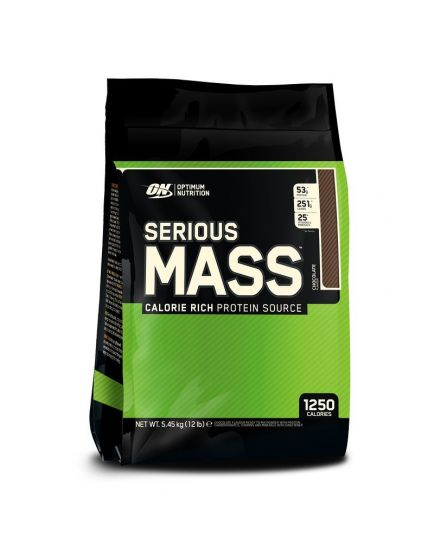 ГЕЙНЕР SERIOUS MASS (5,44 kg) Optimum Nutrition. Фото | Add Power